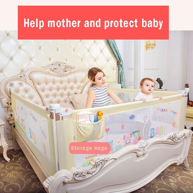 Ограждение для детской кровати, барьер для детской кроватки, ограждение для детской кроватки, ограждение для детского Манежа, центр деятель...