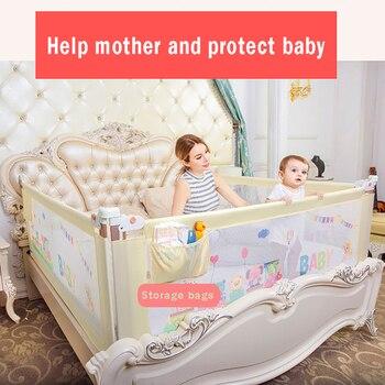 Barrière de sécurité pour lit de bébé   Barrière de sécurité, barrière de sécurité, pour portes d'activités, pour lit d'enfants