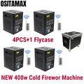 Бесплатная доставка машина фейерверков 400 Вт холодная Искра свадебное пламя фонтан DMX и дистанционное управление сверкающая машина