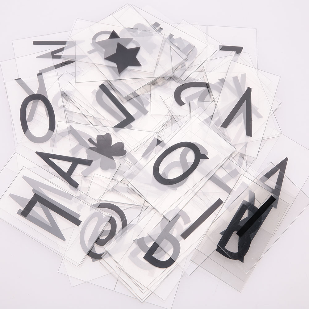 Light Boxes Gifts Letters 85pcs A4 LED Card Boxes Tool Cinema Lightbox DIY Gift Box Message Cinematic Board
