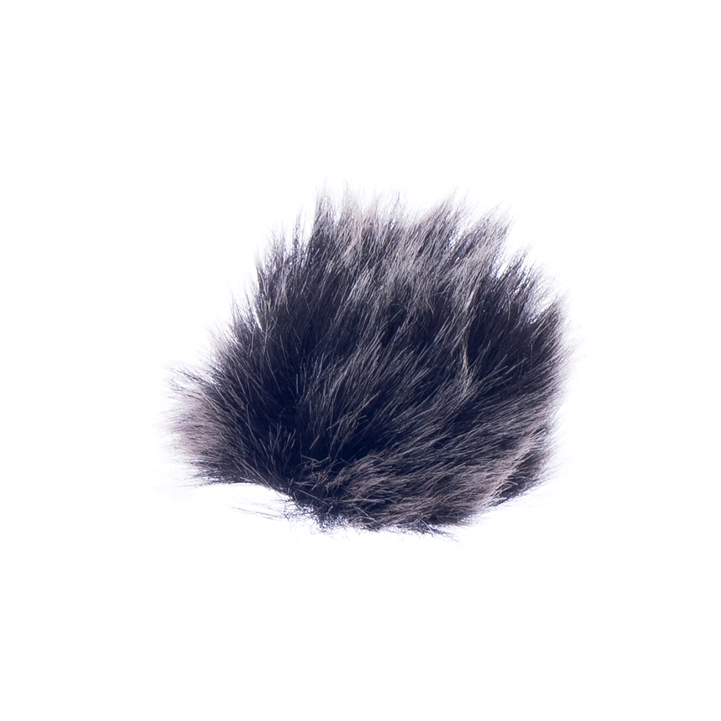 Mini 3.5mm Microphone Mic For Smartphone & Clip-on Microphone Furry Cover