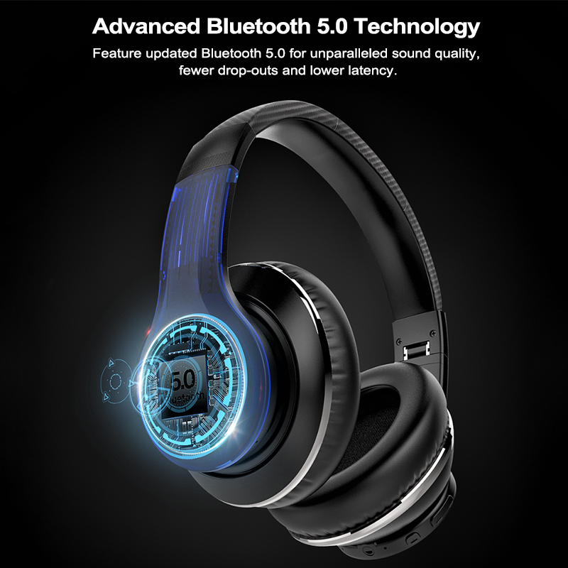 cheapest AUSDOM ANC10 Active Noise Cancelling Wireles Bluetooth Headphones 30 hours play time With HiFi Stereo Bluetooth 5 0 Headset