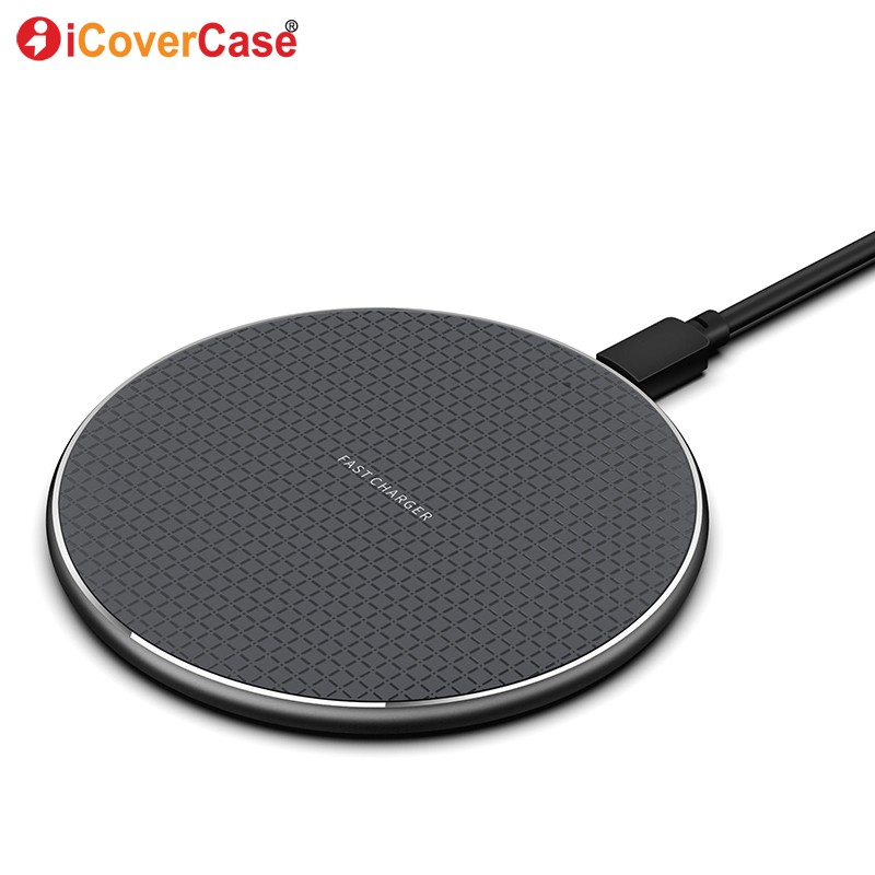 Wireless Charger Qi Fast Charging Pad Case For Samsung Galaxy Note 10 + 9 8 5 S6 S7 Edge S8 S9 S10 Plus S10e 5G Phone Accessory