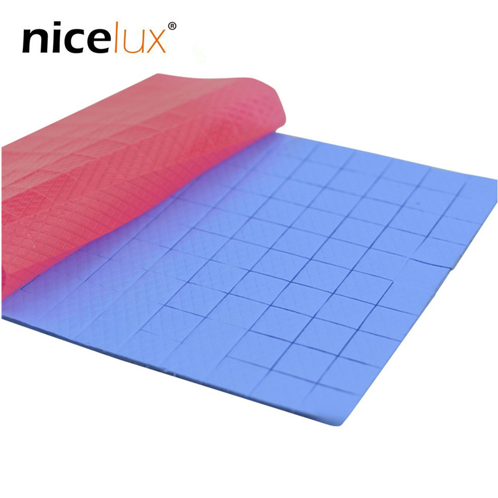 100pcs 10mmx10mmx1mm Thermal Pad GPU CPU Heatsink Cooling Conductive Silicone Pad Sheets For Motherboard Computer Host Notebook