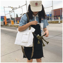 2019 Women Bags Canvas Female Handbags Womans Ladies Korean Casual Tote Bag Crossbody Shoulder Bolsa Feminina