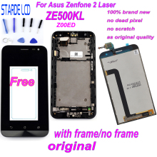 Starde 5.0'' LCD for Asus Zenfone 2 Laser ZE500KL Z00ED LCD Display Touch Screen Digitizer Assembly with Frame and Free Tools цена в Москве и Питере