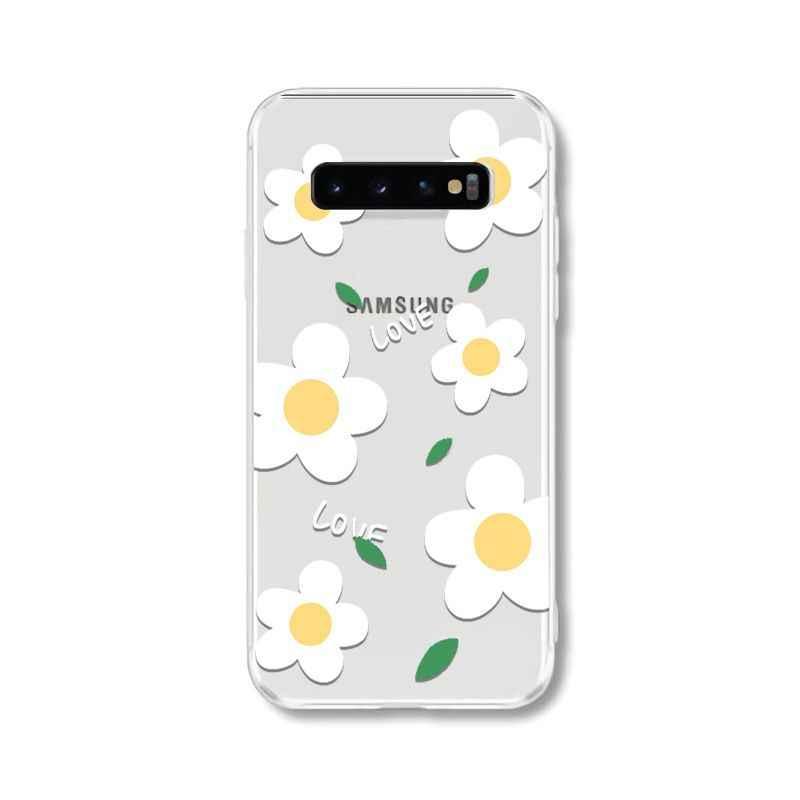 Yinuoda hoa Mùa Hè nhỏ hoa cúc Độc Đáo Mới Nhất Thời Trang Ốp Lưng điện thoại Samsung S10 S6 S6 Edge S7 Edge S8 plus S9 Plus
