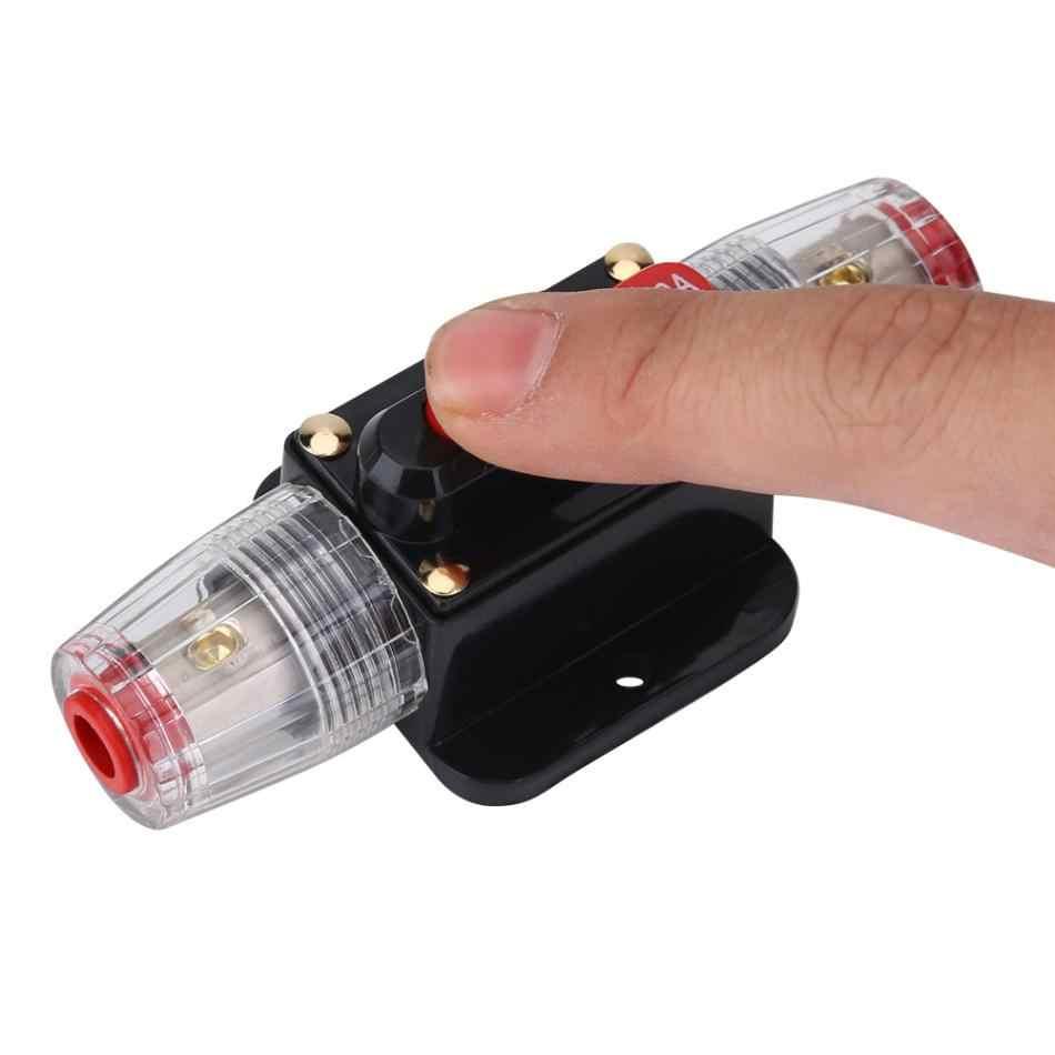 Circuit Breaker Sicherung Halter Auto Geändert Audio 150A Circuit Breaker Manuellen Reset Schalter Sicherung Halter