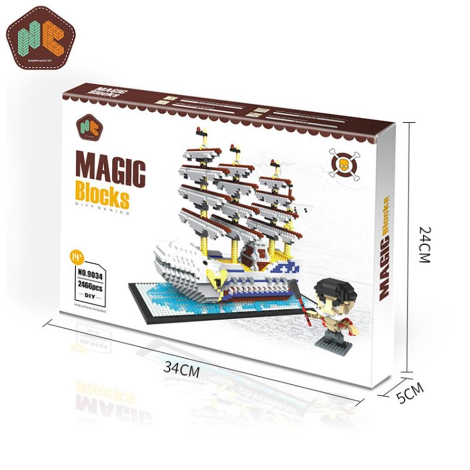 barco branco 3d modelo diy diamante mini