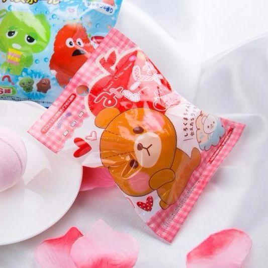 Japanese cartoon bath ball children bath ball toy bath agent bubble bath ball 3