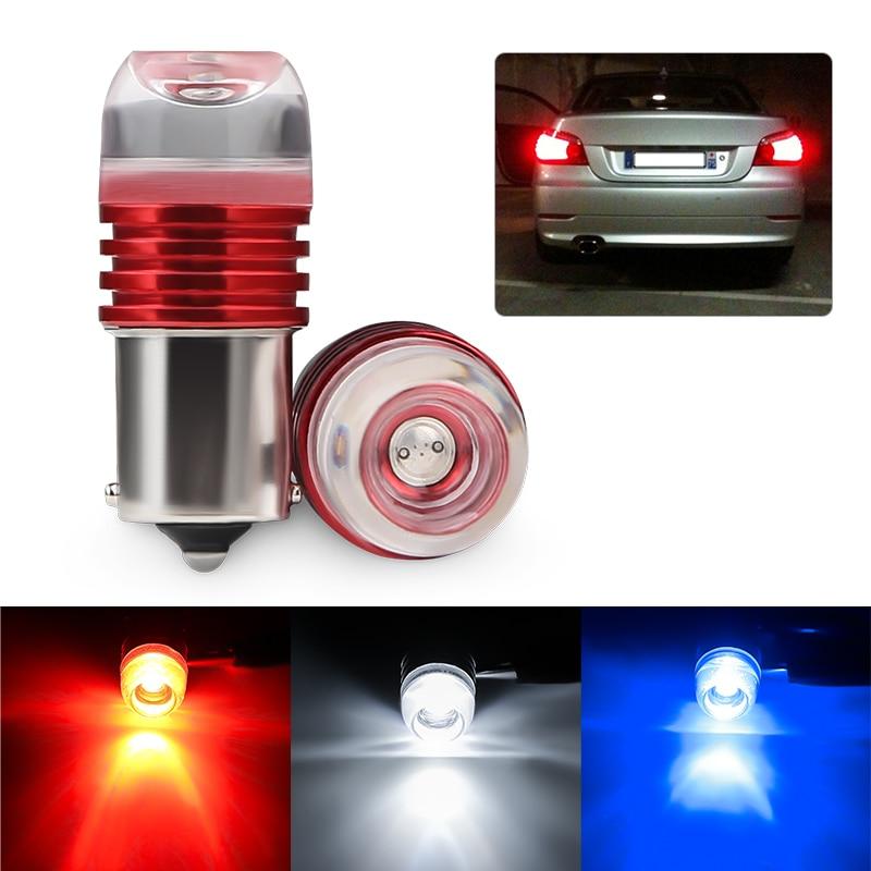 2шт Автомобильный светильник s 12V Led 1156 Ba15S P21W 1157 Bay15D красный мигающий тормозной светильник Led стоп-лампа автозапчасти