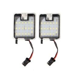 2 sztuk Canbus samochodów LED pod lusterkiem bocznym kałuża światła lampa bez błędu Super jasne dla Ford Focus 3 Kuga c-max Escape Mondeo