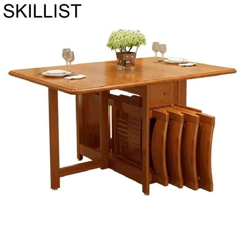 Conjunto Comedor Tisch Marmol pieghevol tavol Da Pranzo cocina Oro Tafel  Retro De Jantar Mesa Plegable Mesa De Comedor Plegable