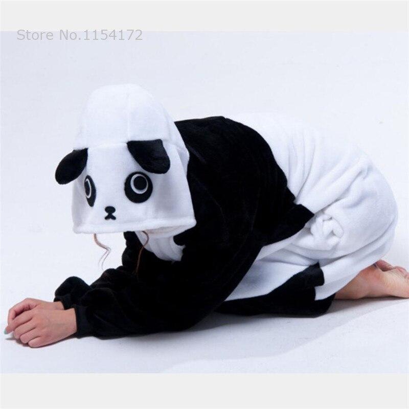 Image 5 - Kigurumi Kungfu Panda onesies Pajamas Cartoon costume cosplay Pyjamas Adult  Animal  Onesies  party dress  Halloween pijamas