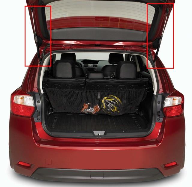 2x подъемник поддерживает газовые стойки толчки задний багажник