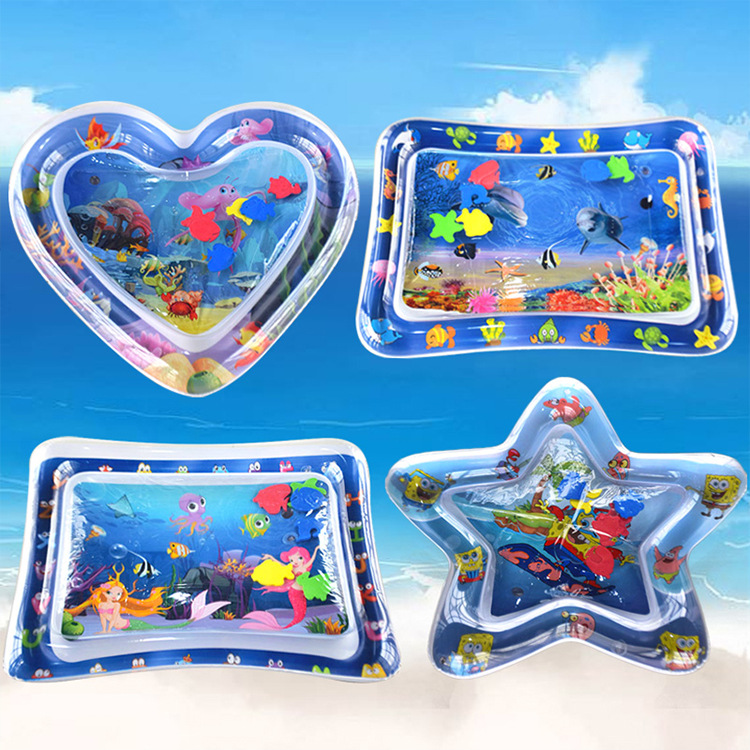 Baby Water Play Mat Kids Watermat 2 IN 1 Babies Activity Gym Toys Inflatable Creative Carpet Games Mat Pools Water Fun For Kids