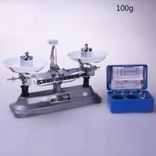 Лабораторный баланс и небольшая погрешность хорошее качество лоток баланс и установка веса лабораторные весы Механические весы(100 г/0,1 г