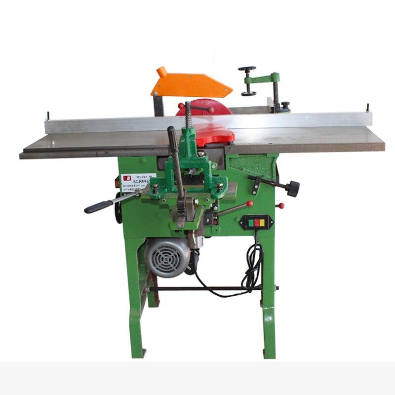 380V Desktop Multi-purpose Woodworking Planing Machine Tool 4200r/min ML393B Electric Chainsaw Planer Machine 2200W 1PC