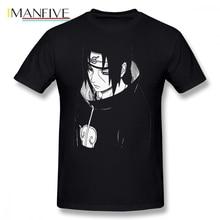 Itachi Naruto Men T Shirt New Funko Pop Big Size O-neck Cotton Short Sleeve Clothes 2019