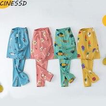 Kids Toddler Pajamas Set Sleepwear Children Boys Girl Winter