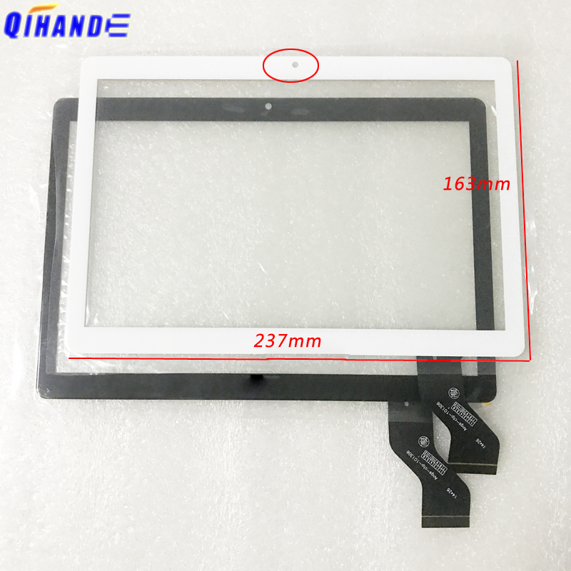 New 2 5D For 10 1   inch Angs-ctp-101306 Tablet Capacitive touch screen panel digitizer Sensor replace Computer Multitouch touch
