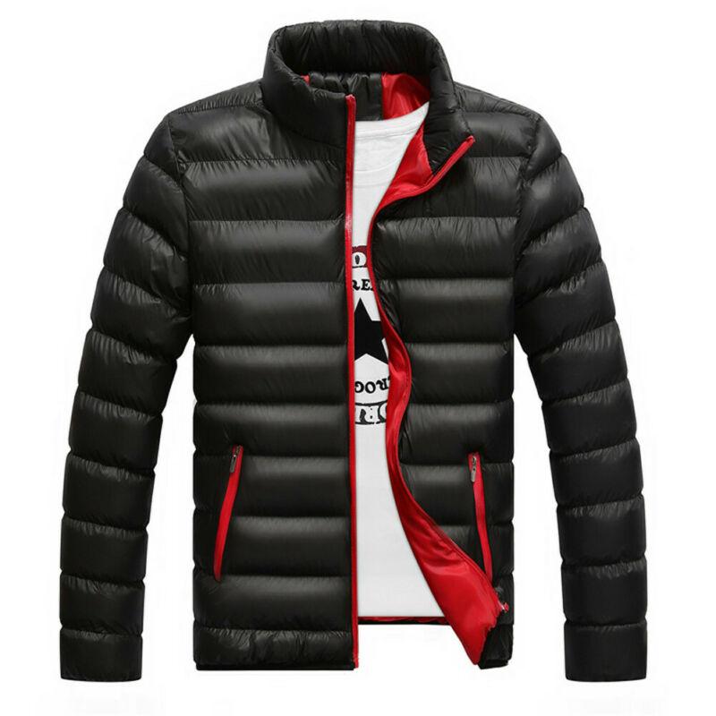 Down-Jacket Lightweight Puffer Stand-Collar Men's Ultra Packable Hiriginr