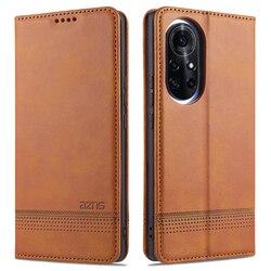 Nova 8 Pro Flip Wallet Leather Phone Case For Huawei Nova 8 SE Cover Magnetic Wallet Protective Back Book