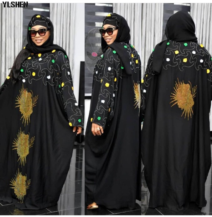 2019 African Dresses For Women Plus Size Dashik African Clothes Boubou Africain New StylesFlowers Robe Africa Dress Outfit Woman