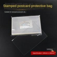 10.5*16.0cm proteja o saco do selo sênior proteja o malote do correio do postal do opp malote do correio do cartão postal