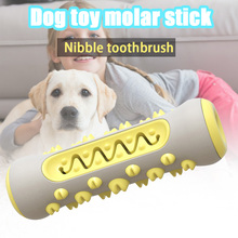 Pet Dog Molar Stick Toothbrush Teeth Cleaning Toy Chew Brushing Teeth Care MU8669