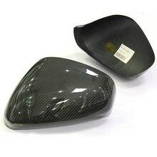 Añadir en el estilo para Maserati Gran Turismo y Gran Cabrio seco de carbono cubierta para espejo retrovisor GT GC para Quattroporte carbono tapas de espejo