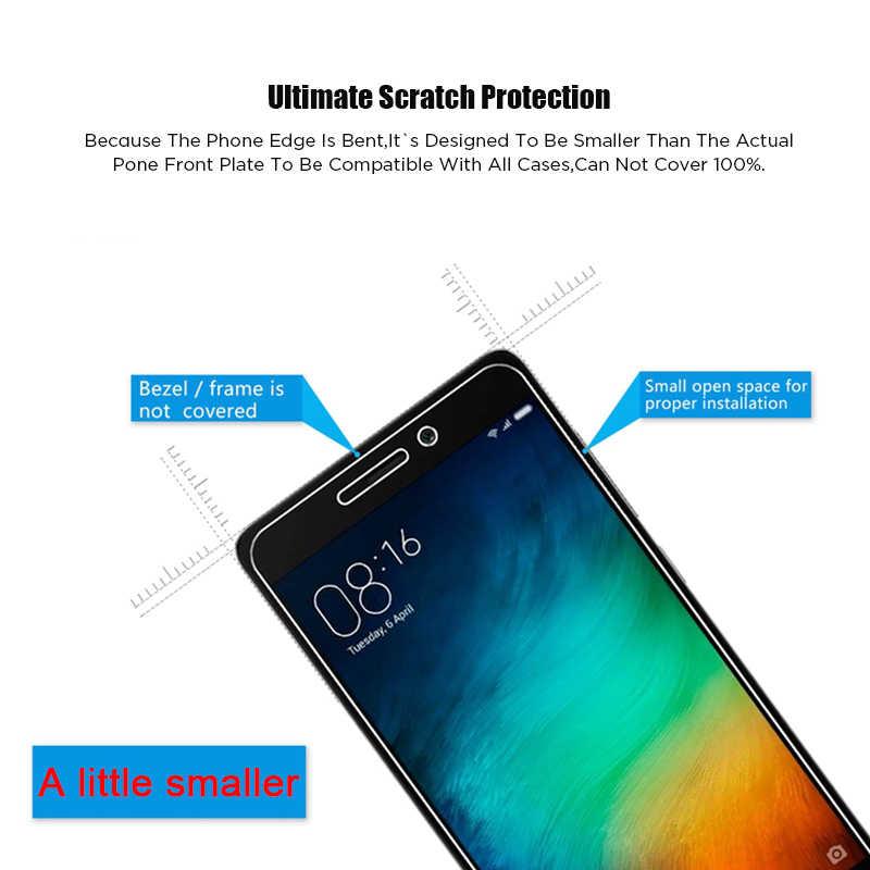 9H Pelindung Layar untuk Xiaomi Redmi 4X 4A 4 Pro 3 S 3 S2 Pergi Kaca Tempered Di Redmi 9 9A 9C 8 8A 7 7A 6 Pro 6A 5A 5 Plus Kaca