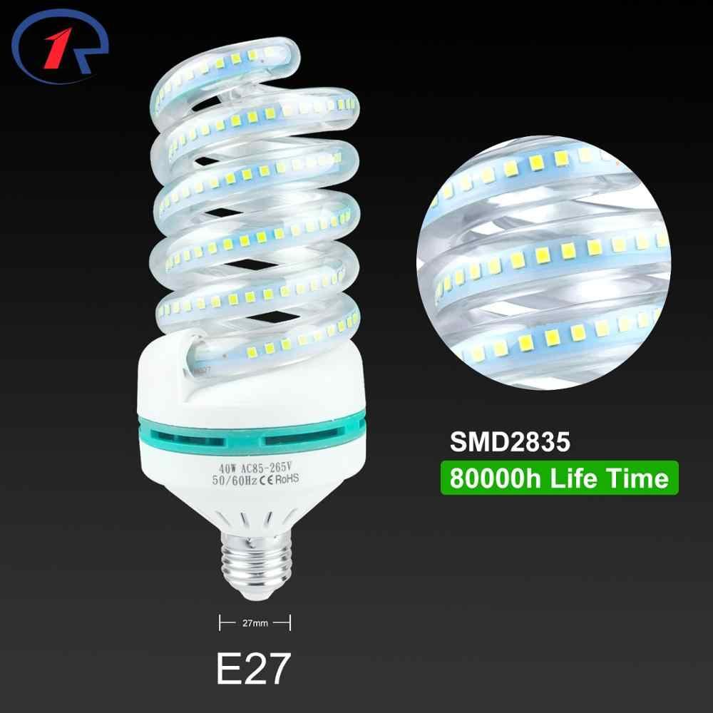 ZjRight E27 a spirale luci A LED A Risparmio Energetico lampadina 5W 9W 16W 24W 40W Soggiorno camera, casa, coperta, biblioteca, ufficio, fabbrica ha condotto le lampadine