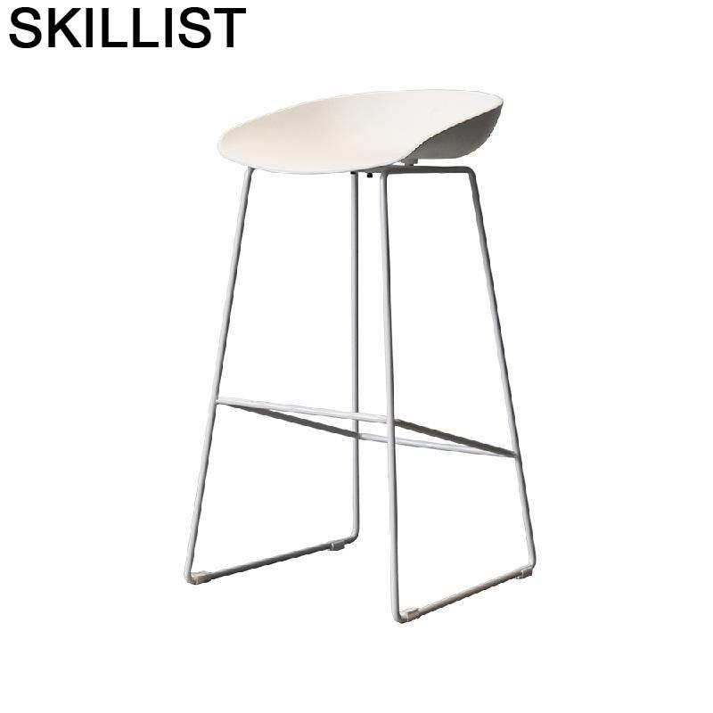 Taburete Stuhl Para Barra Banqueta Todos Tipos Sandalyeler Stoel Hokery Sedie Sgabello Stool Modern Silla Cadeira Bar Chair