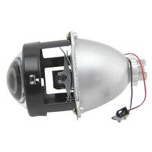 Mini 2.5inch HID Bi-xenon LHD Hi Lo Light Car Headlights Retrofit Styling H1 Projector Lens Headlight lenses Use H1 Bulb H4 H7 2 5 inch mini bi xenon projector lens fit for h1 h4 h7 car headlight headlamp car assembly kit motorcycle free shipping