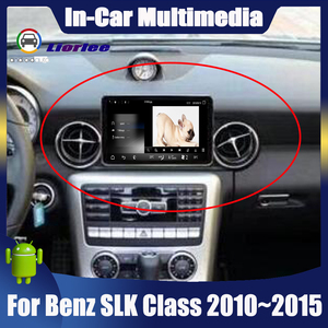 """Image 1 - 8.4"""" Android display For Mercedes Benz SLK Class R172 2010~2015 touch screen Car GPS Navigation stereo radio multimedia player"""