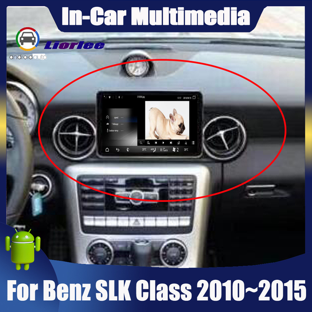 """8.4"""" Android display For Mercedes Benz SLK Class R172 2010~2015 touch screen Car GPS Navigation stereo radio multimedia player"""