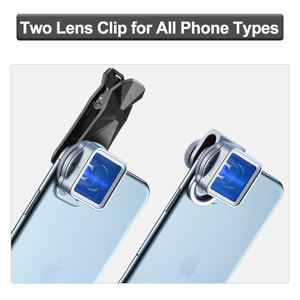 Image 2 - Ulanzi 1.33X Anamorphic Lens Filmmaking Phone Camera Lens Widescreen Movie Lens by Filmic Pro App for iPhone 11 Pro Max Pixel 4