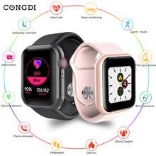 D20 Smart watches Waterproof Sports Fitness Bracelet Sleep Tracker Heart Rate Mo