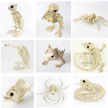 High quality Animal Skeleton toy Trinkets Halloween animal decoration Bones house fashion artwork Party Decoration