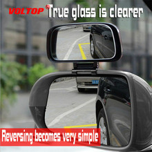 купить Square Wide Angle Car Mirror Rearview Blind Spot Mirror Side Rear View Real Glass Suitable for All Kinds of Rearview Mirrors дешево