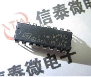 10PCS/LOT Original L293D DIP16 IC MOTOR DRIVER PAR 5pcs lot new original ta6586 6586 dip 8 motor driver ic