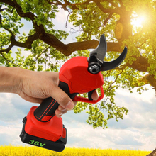 36V 500W 10000mAh Electric Scissors Pruning Shears Cordless Scissors Garden Pruning Cutting Machine Fruit Scissors Garden Tools