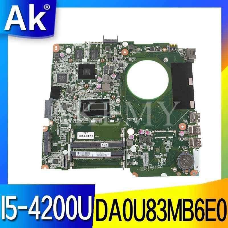 لوحة أم عالية الجودة 734426-501 734426-001 734426-601 for HP 14-N I5-4200U DSC 8670M 2GB DA0U83MB6E0 REV: E 100% تم اختبارها