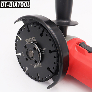 "Image 5 - DT DIATOOL  1pc Vacuum Brazed Diamond Cutting Disc Multi Purpose for Rebar Aluminum hard Granite Rescue Saw blade 4.5"" 9"""