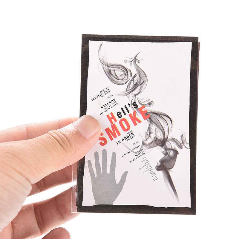 Voodoo Magic Smoke Finger Magic เคล็ดลับ Surprise Prank Joke Mystery สนุกนิ้วมือที่ว่างเปล่ามือ Out Smoke Magic Props Comedy Magic