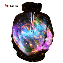 3D Hoodies Fashion Mens Womens Smog Starry Nebula Star Sweatshirt Graphic Casual Coat Pullover Tracksuit Unisex Tops
