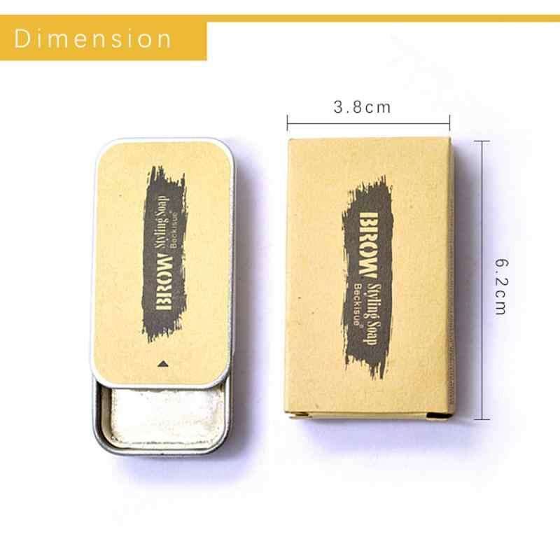 3D Pennuto Sopracciglio Impostazione Gel Sopracciglia Trucco Gel di Sapone Sopracciglia Kit di Lunga Durata Impermeabile Sopracciglio Tinta Pomata Cosmetici TSLM2