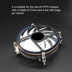 S950M 31mm CPU Heat Dissipation Cooling Fan Cooler Radiator for Intel LGA 115X Cooling Fan Heat Sink radiator for Intel LAG