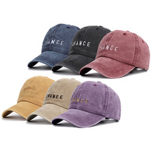 Go Direct Selling  Dad Hat Ms Spring 2019 New Chance Letters Washed Baseball Cap Man Lovers Like Contracted
